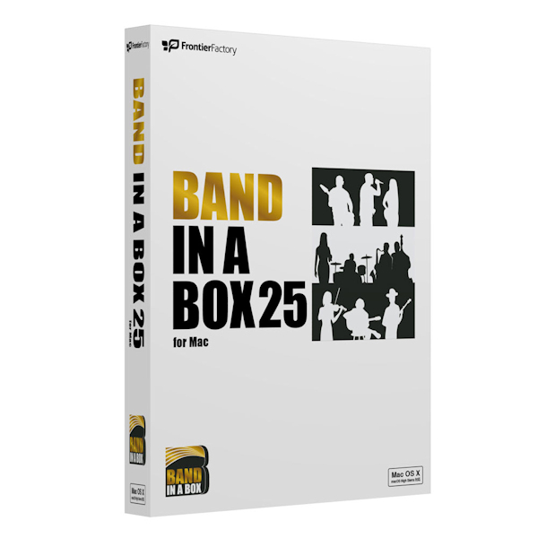 [プレスリリース]Band-in-a-Box 25 for Mac