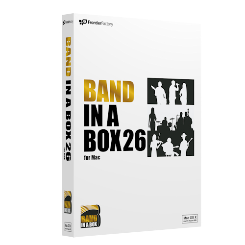 [プレスリリース]Band-in-a-Box 26 for Mac
